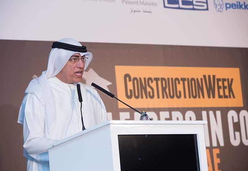 Expo 2020 Dubai's Ahmed Al Khatib at Construction Week: Leaders in Construction Summit UAE 2018.