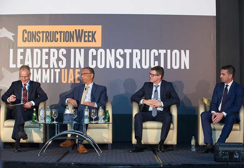 A panel at CW: Leaders in Construction Summit UAE 2018 discussed how the 'Smart Dubai' target can be achieved.