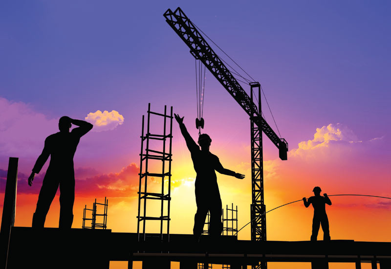 Construction and development companies must get used to reduced margins, a market expert says [representational image].