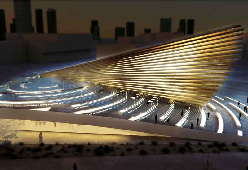 Es Devlin has designed the UK Pavilion at Expo 2020 Dubai [image: Expo 2020 Dubai].