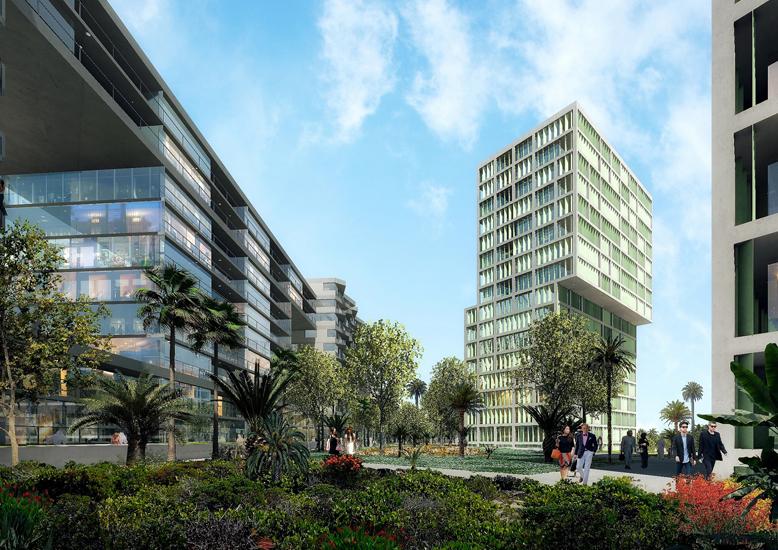 Dubais Deyaar Development unveiled the masterplan of its upscale development Midtown by Deyaar in September 2014.