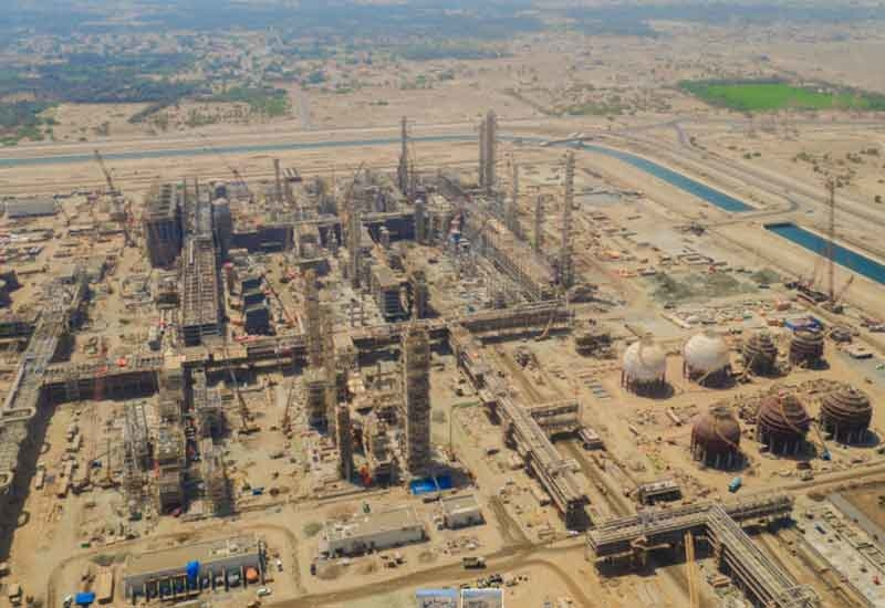 Orpic's Liwa Plastics Industry Complex is 67% through with construction [image: ONA].