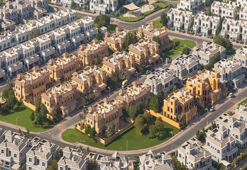 Dubai's Falconcity of Wonders features approximately 30,000 residential units.