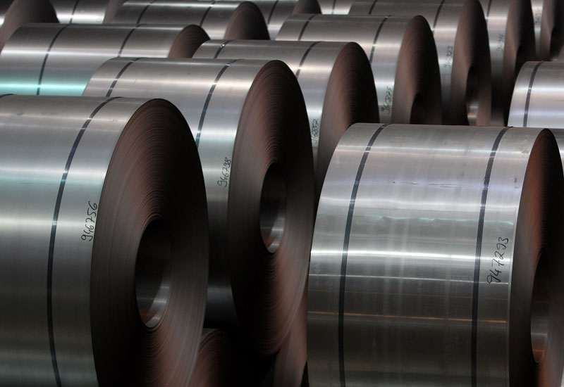 The Middle East's and the global steel industries face numerous challenges, such as the impact of project delays and US President Trump's tariffs [representational image].