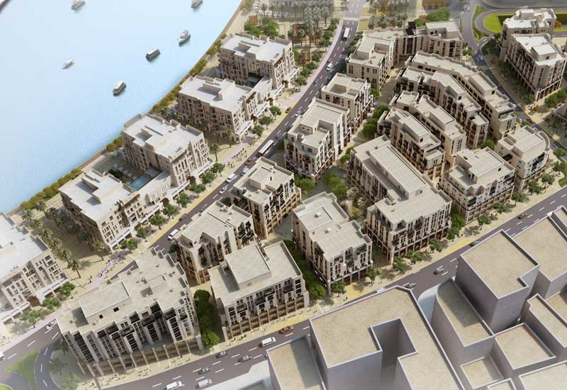 The Gold Souk Extension scheme in Deira will span 6.4ha [image: Ithra Dubai].