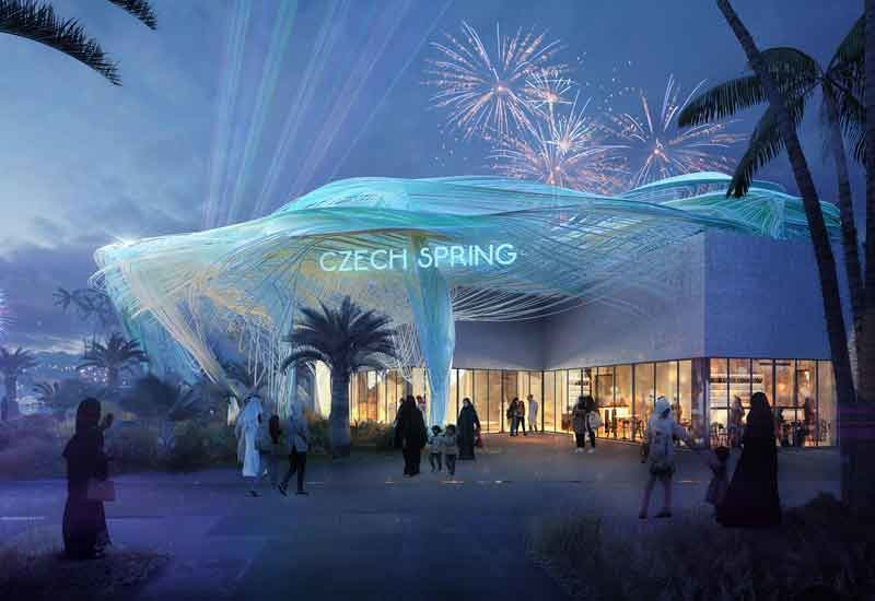 Czech Republics Expo 2020 Dubai pavilion will focus on the Czech Spring concept [image: czexpo.com].