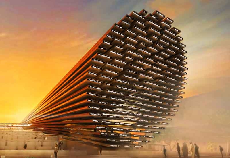 Stephen Hawking has inspired the design of the UK Pavilion at Expo 2020 Dubai [image: Expo 2020 Dubai].