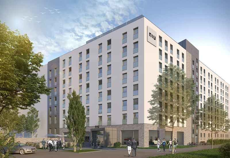 The Niu Air Frankfurt hotel acquired by Select Group will open in 2019 [image: Select Group].