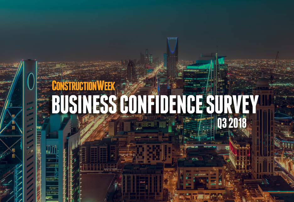 Construction Week's inaugural Business Confidence Survey reviews the Q3 performance of the Middle East's contracting, equipment, FM, and MEP sectors.