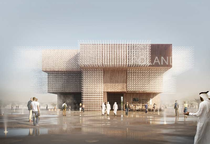 WXCA and Bellprat will design Expo 2020 Dubai's Poland Pavilion [image from archdaily.com /  Vivid Vision].