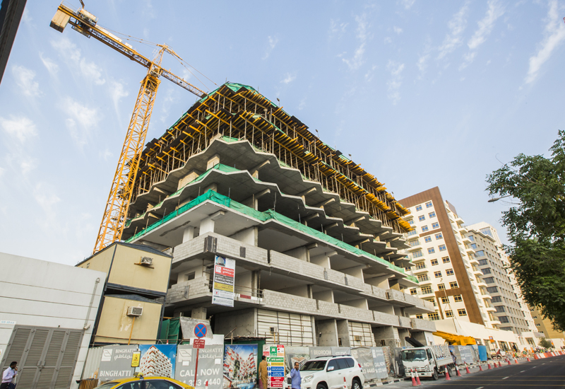 Work is progressing at pace on Binghatti Stars in Dubai Silicon Oasis [ITP Images].