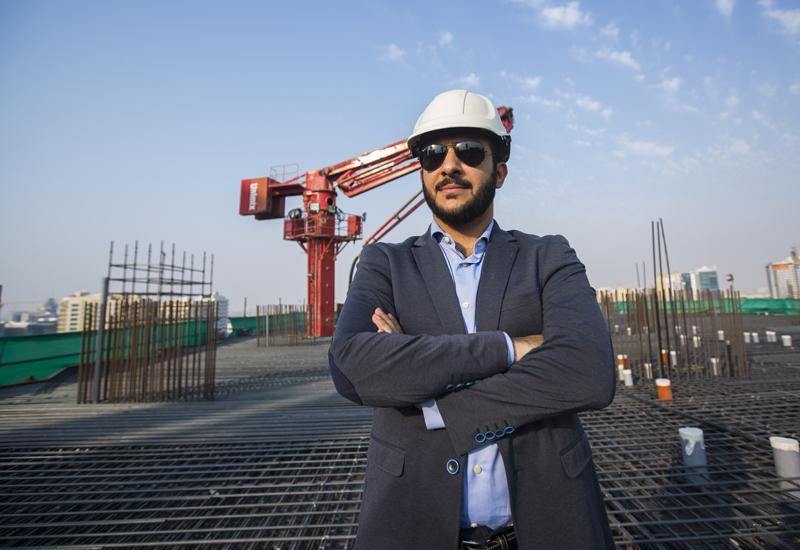 Osama Hellis, project manager at Granada European Construction [ITP Images].