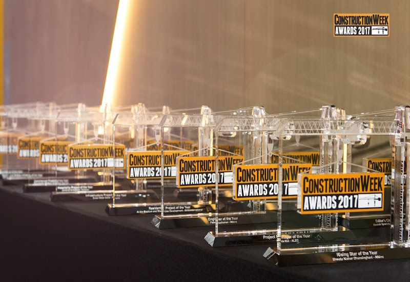 The Construction Week Awards 2018 will be held at Dubai's JW Marriott Marquis hotel.