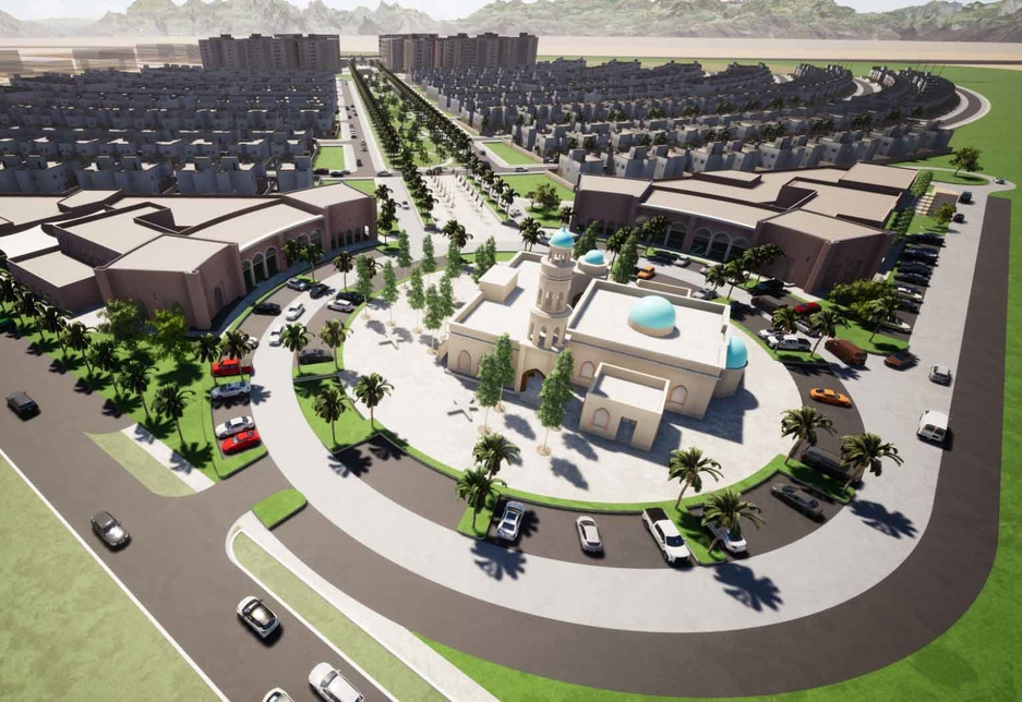 A rendering of Oman's integrated residential project in Barka [image: ONA].