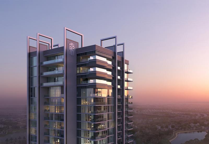 Construction on Sweid & Sweid's Banyan Tree Residences -  Hillside Dubai has reached the roof level.