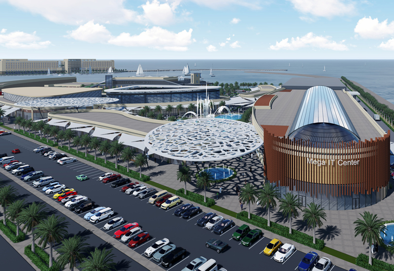 The foundation stone has been laid for Oman's Barka Marina project [image: ONA].