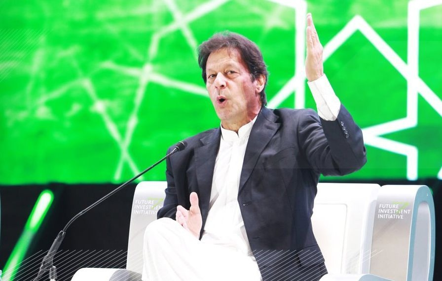 Pakistan PM Imran Khan said the country is in talks with Saudi investors over oil refineries in the country [image: arabianbusiness.com].