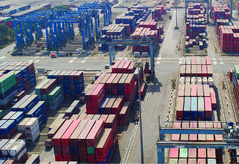 HIPL, led by Dubai's DP World, will build a warehousing zone within Jawaharlal Nehru Port Trust, India's largest container gateway [image: Facebook / JNPT].