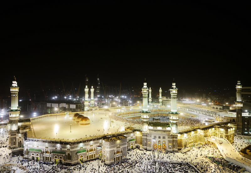 Saudi Arabia has 5,200 construction projects worth $819bn in its pipeline [representational image of Makkah].