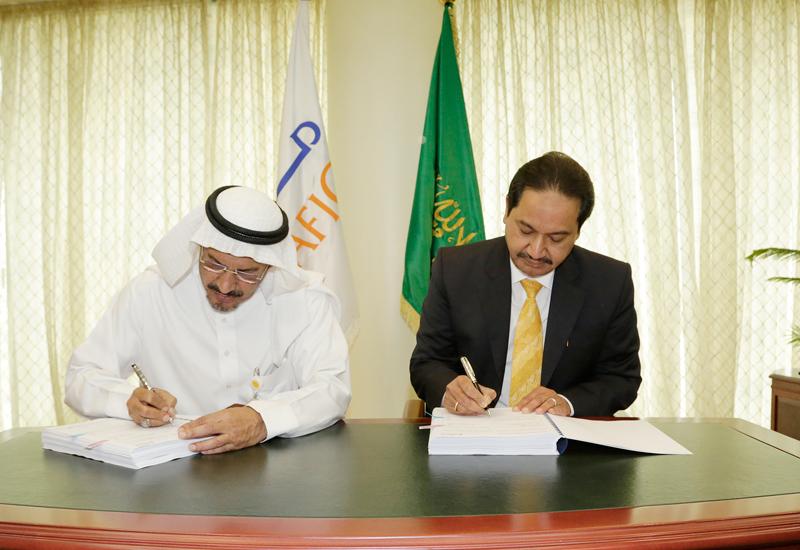 The CEOs of Saudi Arabia's Marafiq and India's VA Tech Wabag signed the Jubail plant's expansion contract.