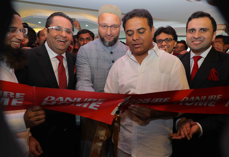 Danube Group held a ribbon-cutting ceremony for the Indian showroom this month.