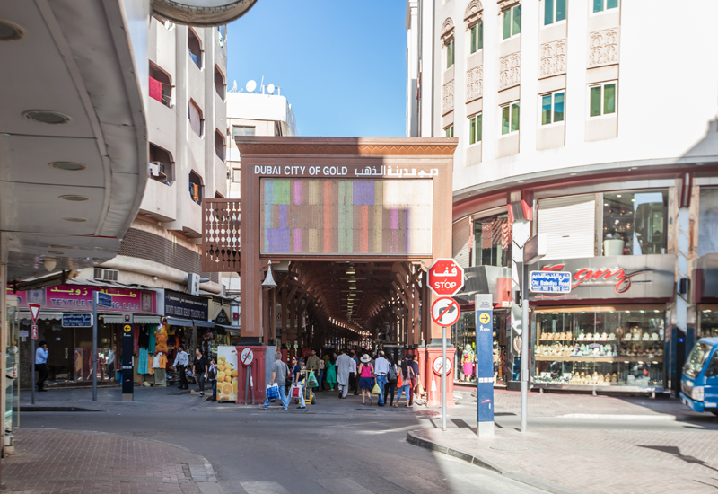 Gold Souk is one of Dubai's most popular historic neighbourhoods, particularly during Diwali season [ITP Images].