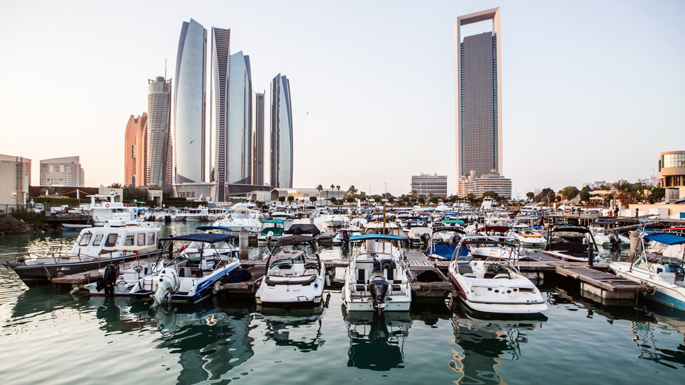 The average price of an apartment in Abu Dhabi dropped 5.8% between 2017 and 2018.