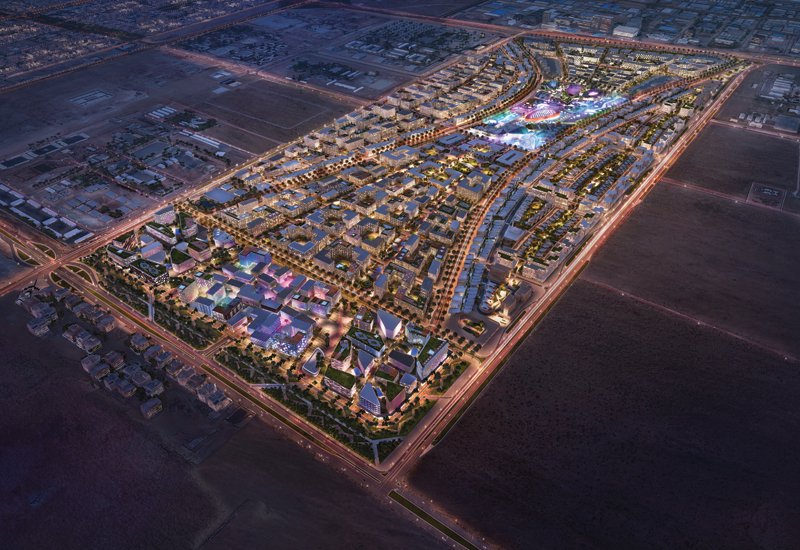 Arada has unveiled smart city plans at Sharjah smart city megaproject Aljada.