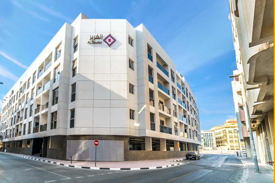 Al Ghurair has completed four of the 58 buildings that it plans to develop in Dubai by 2020 [image: Al Ghurair Properties].
