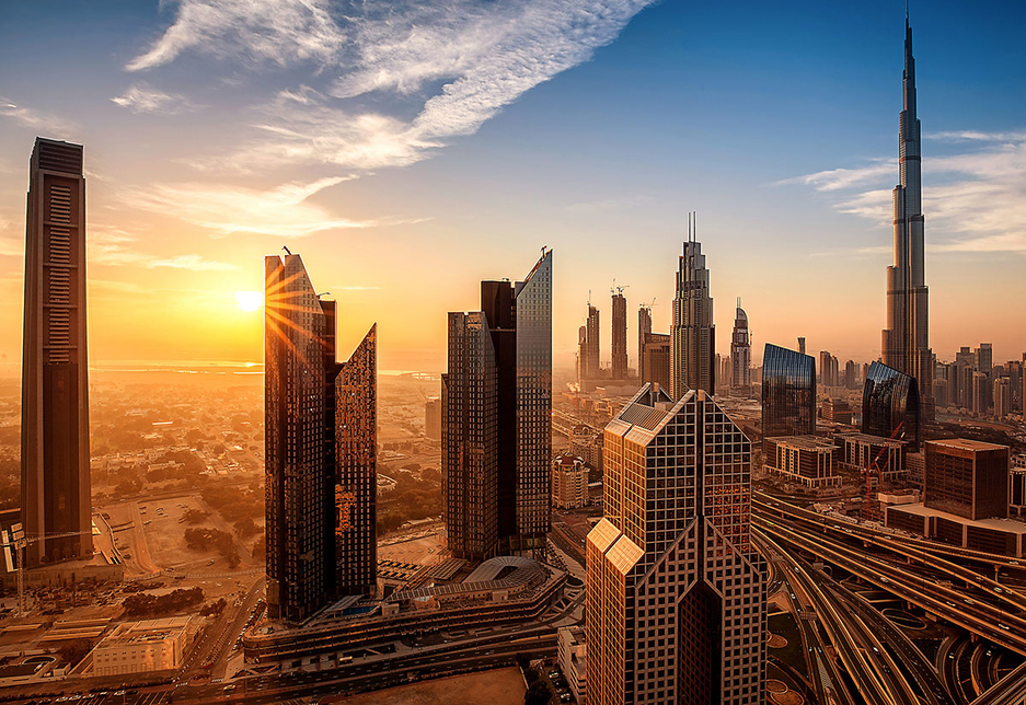 Dubai leads the Middle East's smart city efforts, experts have told Construction Week [representational image of Dubai's skyline].