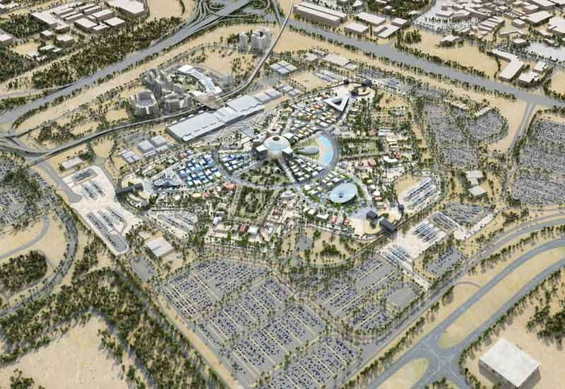 The design of the US Pavilion at Expo 2020 Dubai will be revealed during an event on 28 November, 2018 [image of project masterplan by Expo 2020 Dubai].