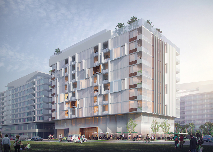 Imkan's Thanaya development is taking shape in Abu Dhabi.