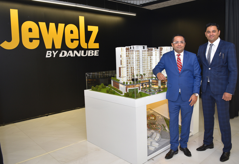 Jewelz was launched by Danube Properties in March 2018.