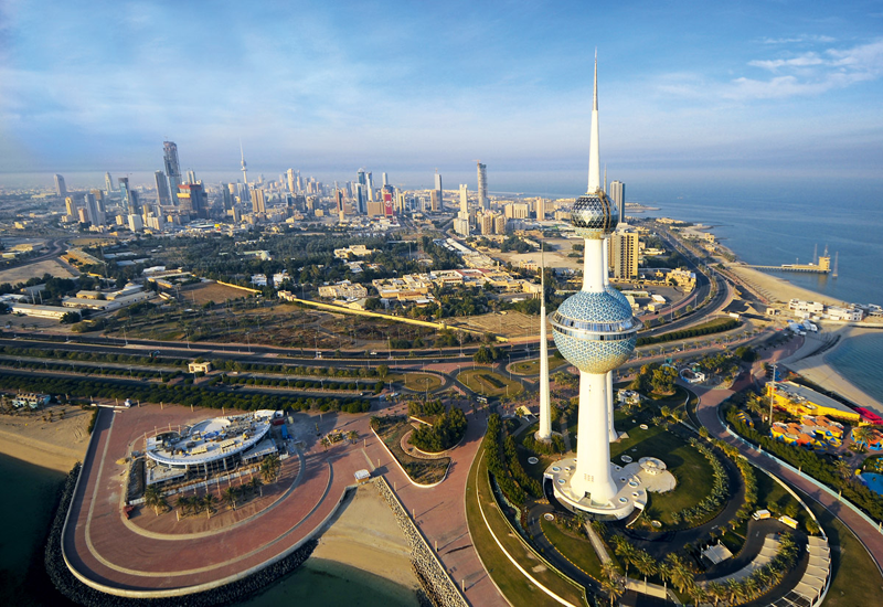 Sabah Al-Ahmad City is  located in Alahmadi governorate 50km south of Kuwait City [pictured].