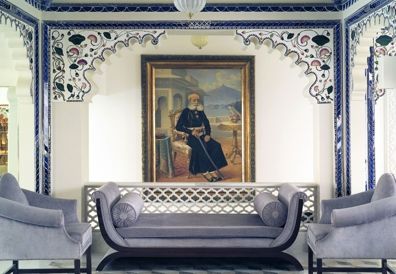 The Lake Palace Udaipur hotel in India's Rajasthan state is one of JPA's past projects [image: JPA Design].