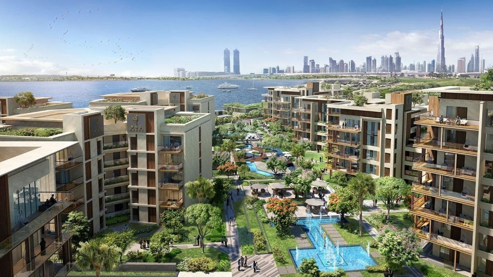 Mag Creek, the master development within which the world's largest wellness centre will be developed in Dubai. VX is working on the Mag Creek Wellbeing Resort within the master development.