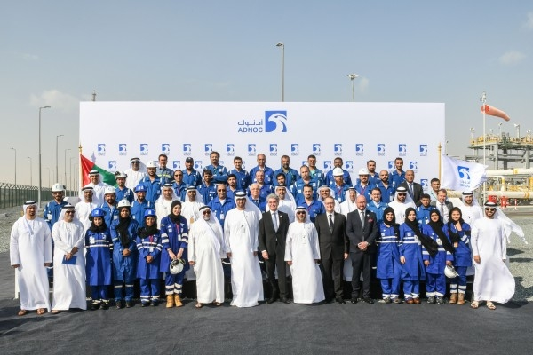 Adnoc has unveiled its Taweelah Gas Compression Plant in the UAE capital, which was built by Germany's Siemens [image: Wam].