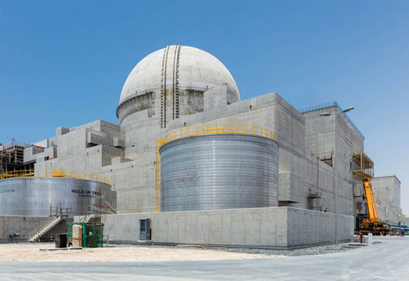 The Franco-Emirati deal between EDF and Nawah focuses on Abu Dhabi's Barakah project, the Arab world's first nuclear energy plant [image: Wam].