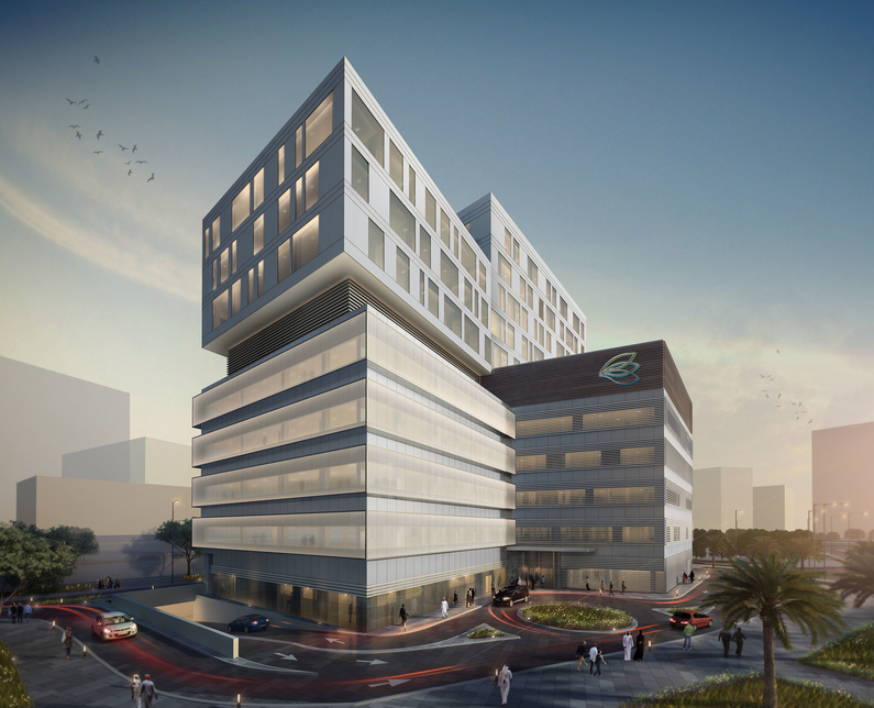 Construction of Clemenceau Medical Centre, in which Dubai Investments has acquired 20% stake, is 68% complete [supplied image].