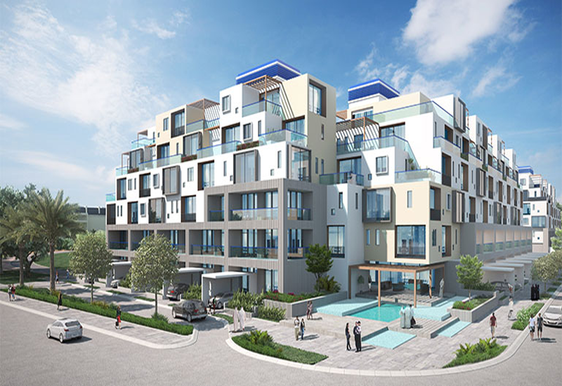 Oia Residence is a Union Properties project in Dubai Motor City.