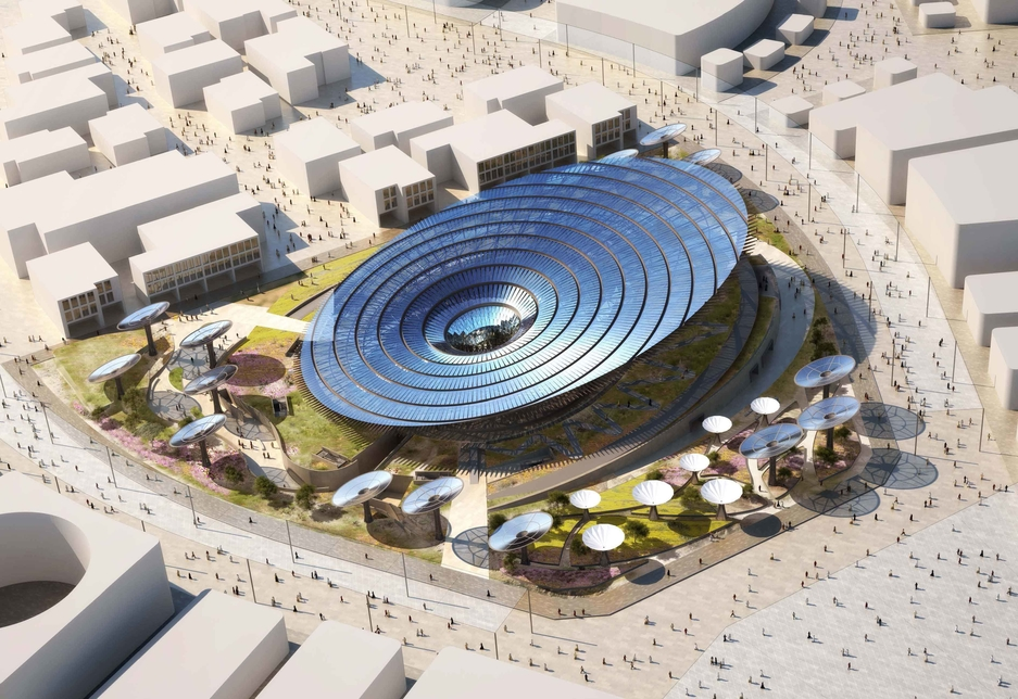 Spanish contractor Acciona has been selected by Emaar Properties and ASGC to work on the Sustainability Pavilion [image: Expo 2020 Dubai].