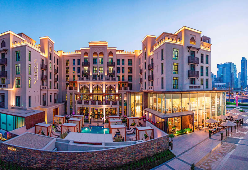 Vida Downtown is one of the Dubai hotels that Emaar has sold to Abu Dhabi National Hotels.