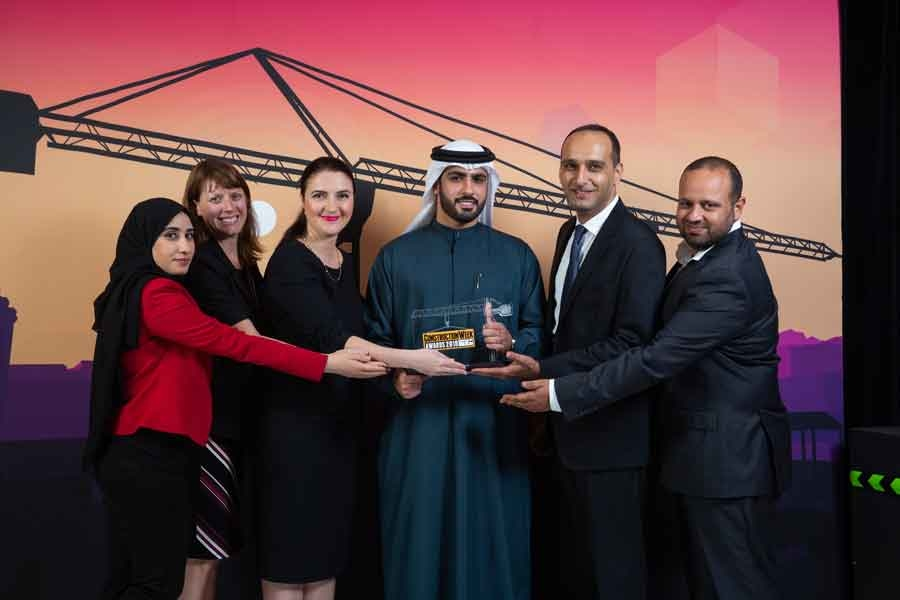 ASGC's work on Dubai Arena won Hospitality Project top honours at the Construction Week Awards 2018.