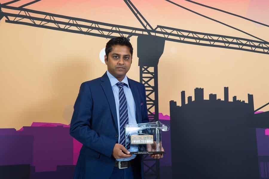 Baskaran Ramanatham from Atkins was named Construction Week Awards 2018's Engineer of the Year.