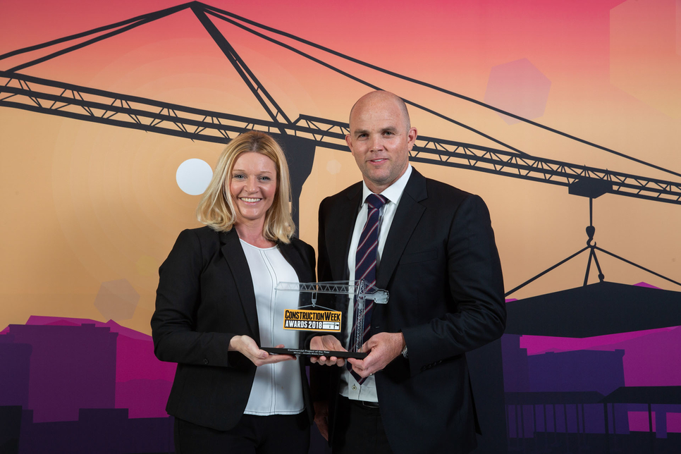 For the Dubai Frame, Arcadis walked away with the Commercial Project of the Year 2018