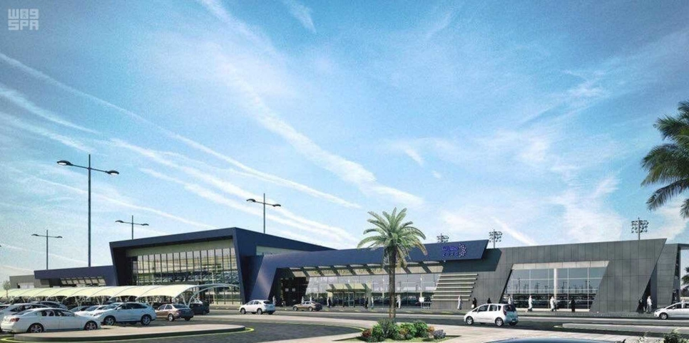 Al-Qunfudah Airport is due to complete in two years [image: SPA].