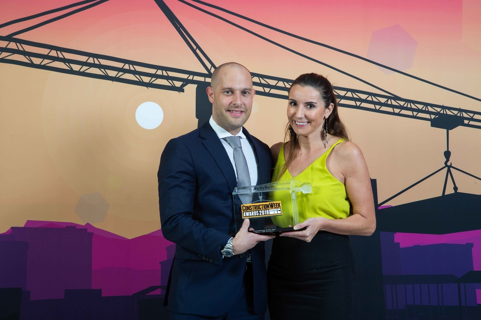 WSP was named Consultancy of the Year at the Construction Week Awards 2018, held in Dubai on 4 December.