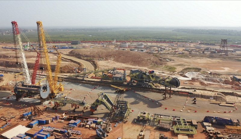 Construction on EGA's bauxite mining project in Guinea has reached 75% completion [image: Wam].