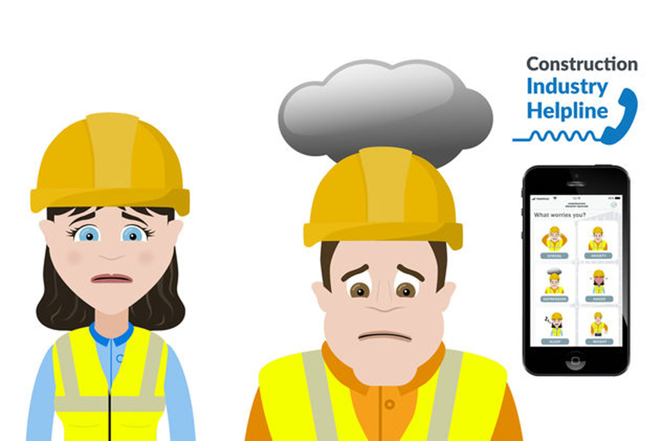 Coins worked with Lighthouse Club to develop Construction Industry Helpline, an app dedicated to raising mental health awareness in the global construction sector [image: coins-global.com].