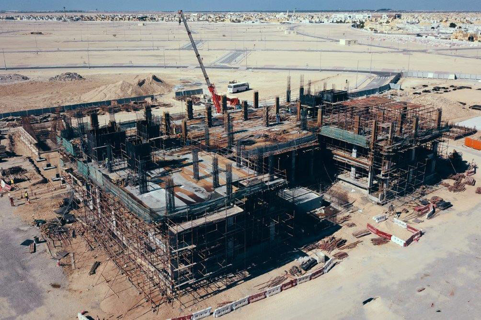 Musanada is building eight projects to expand Abu Dhabi Police's facilities [image: Wam].